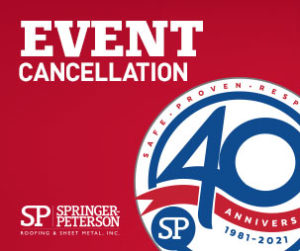 40th anniversary cancellation