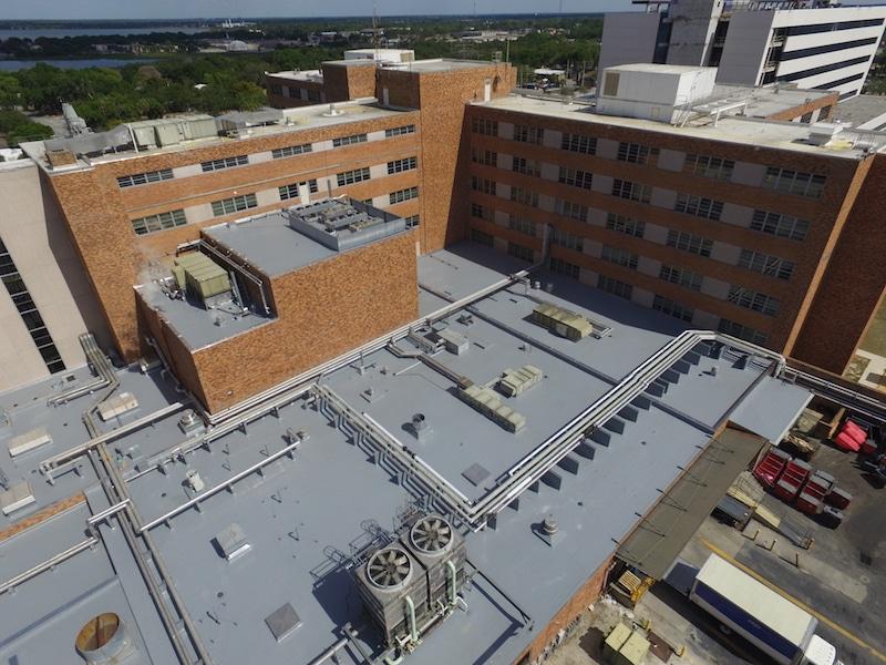 Lakeland Regional Medical Roof Replace Lakeland